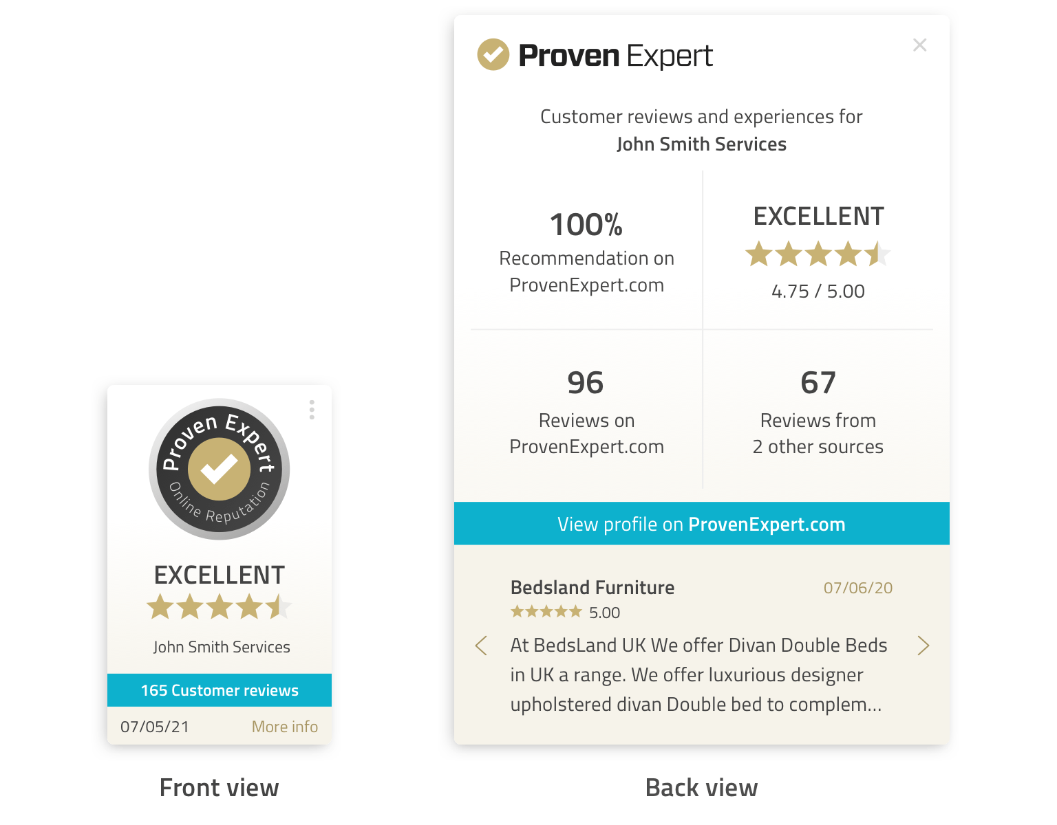 The new ProvenExpert PRO Seal - the new generation of trust seals